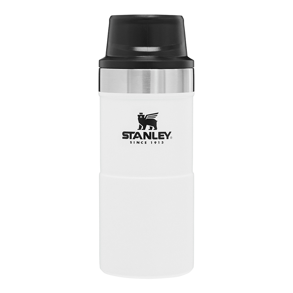 Stanley - Classic Trigger Action Termosmugg 35 cl Vit