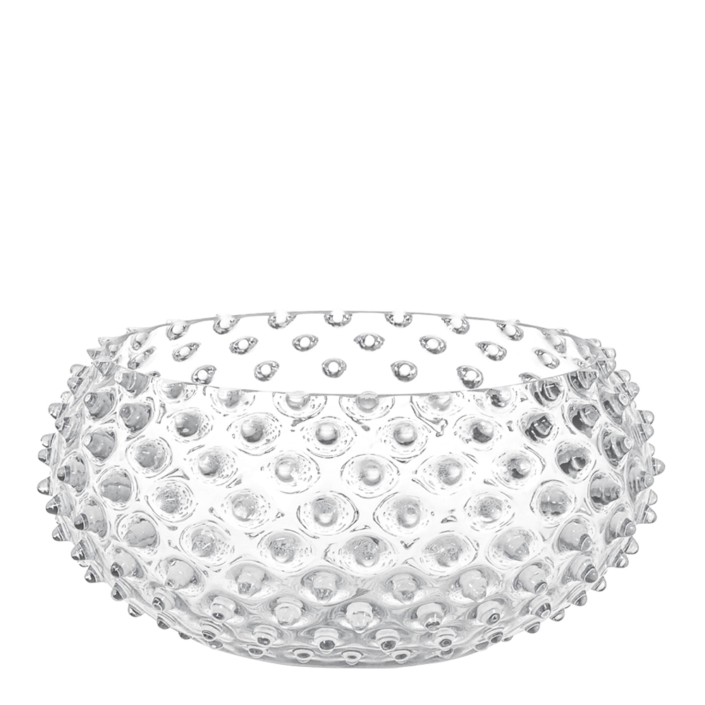 Klimchi - Hobnail Skål 23 cm  Crystal