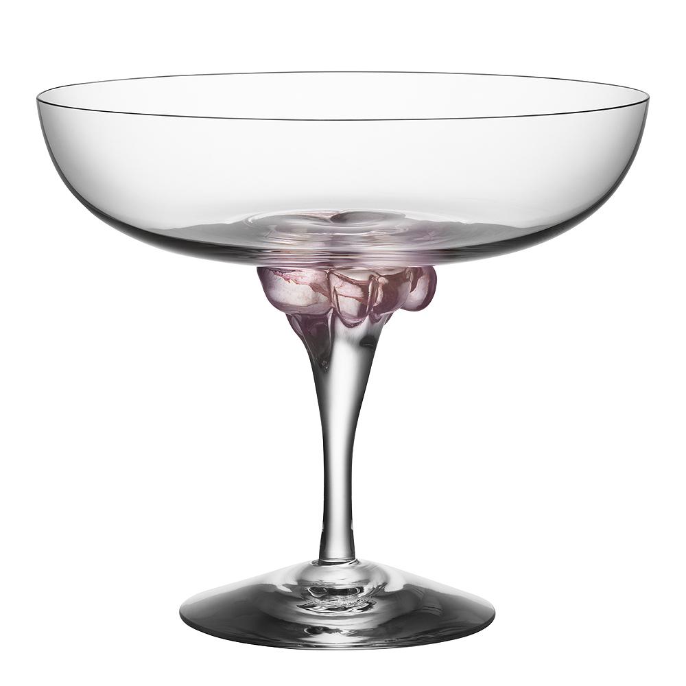 Kosta Boda - Sugar Dandy Champagneskål 25 cl Rosa