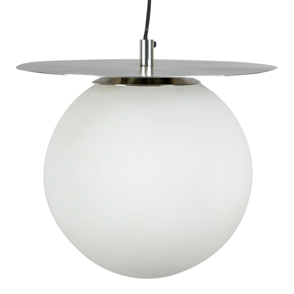 By On - Lush Globe Taklampa 27 cm Silver/Vit