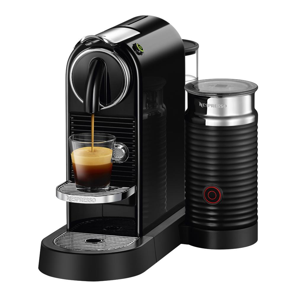 Nespresso - Citiz&Milk Kaffemaskin EN267 Svart