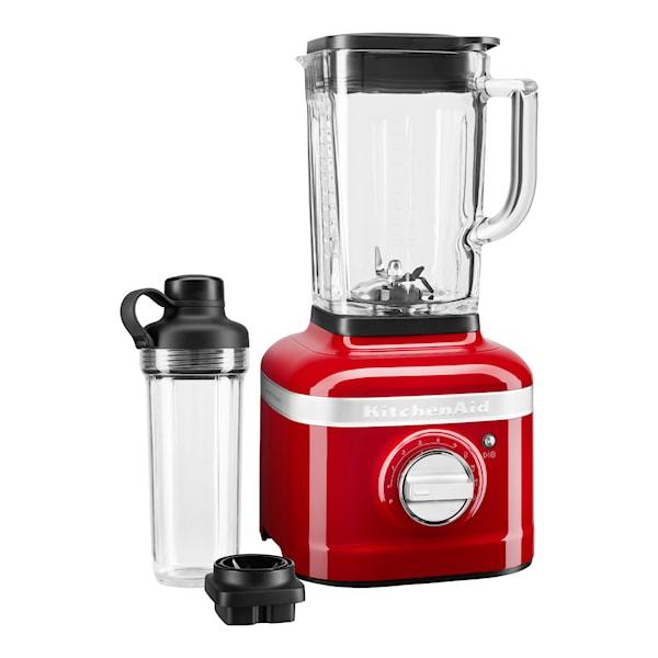 KitchenAid Artisan K400 Blender 1,4 L + To-Go Beger Rød Metallic