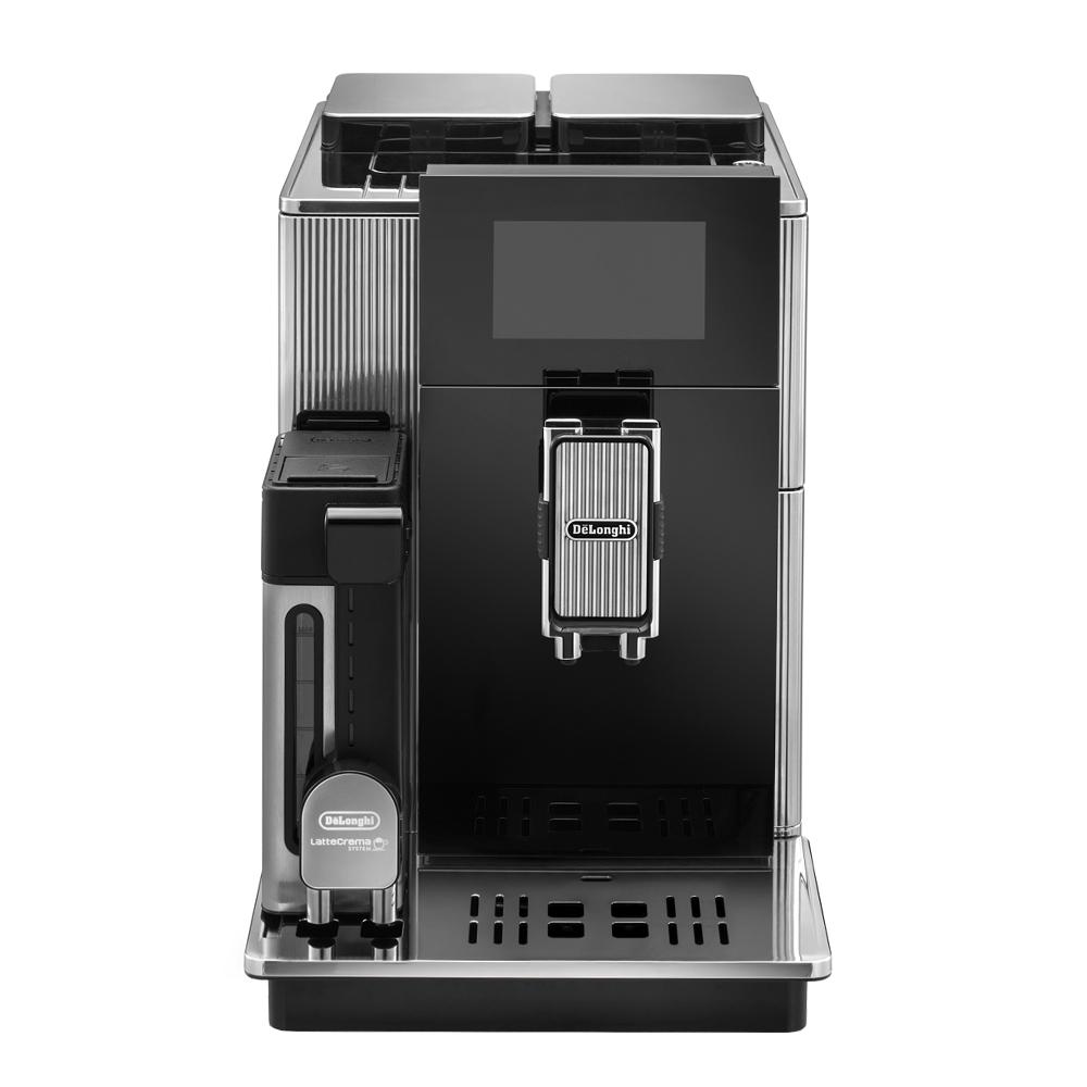 Delonghi - Maestosa Kaffemaskin Glas/Metall