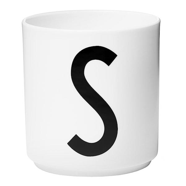 Design Letters Mugg S Vit