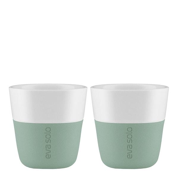 Eva Solo Espressomugg 8 cl 2-pack Faded Green