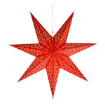 Dot Stjärna 54 cm Röd