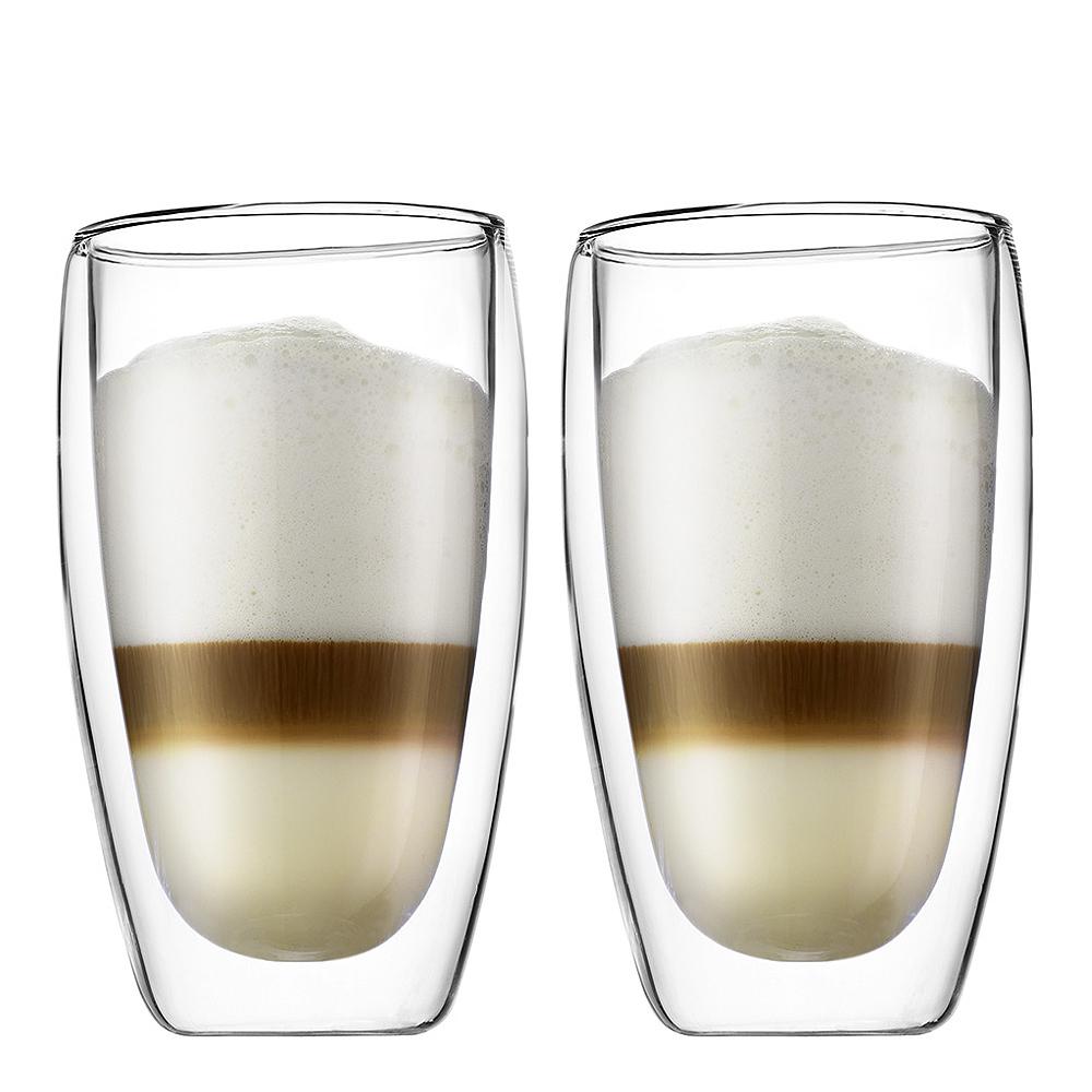 Bodum - Pavina Kaffeglas dubbelväggad 45 cl 2-pack