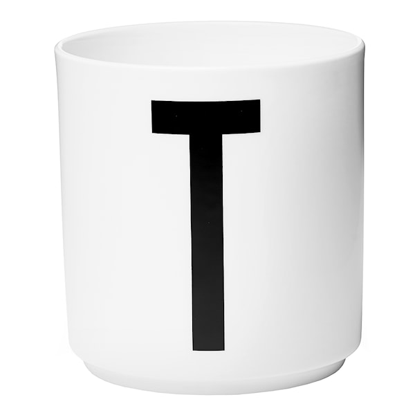 Design Letters Mugg T Vit