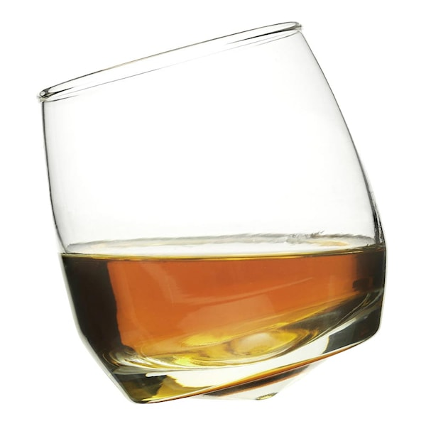 Bar Whiskyglas rundad botten 6-pack