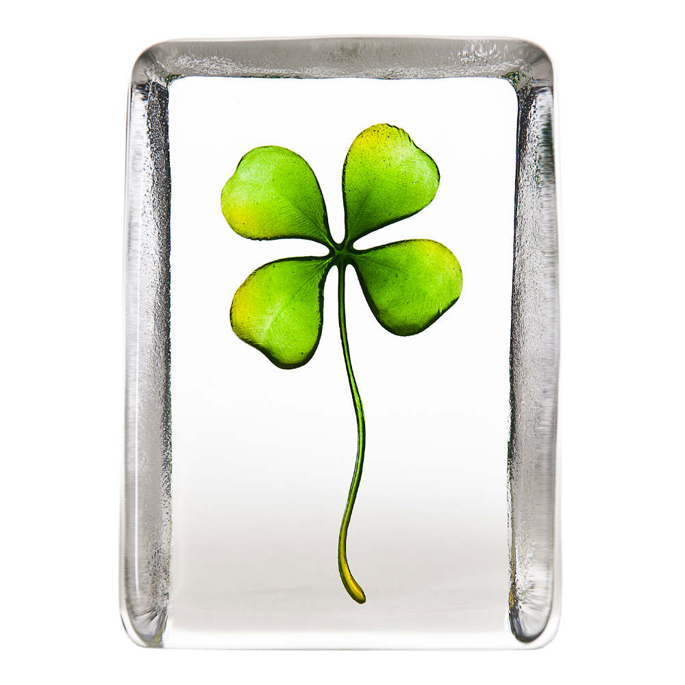 Målerås Glasbruk - Nordic Icons Fyrklöver Grön