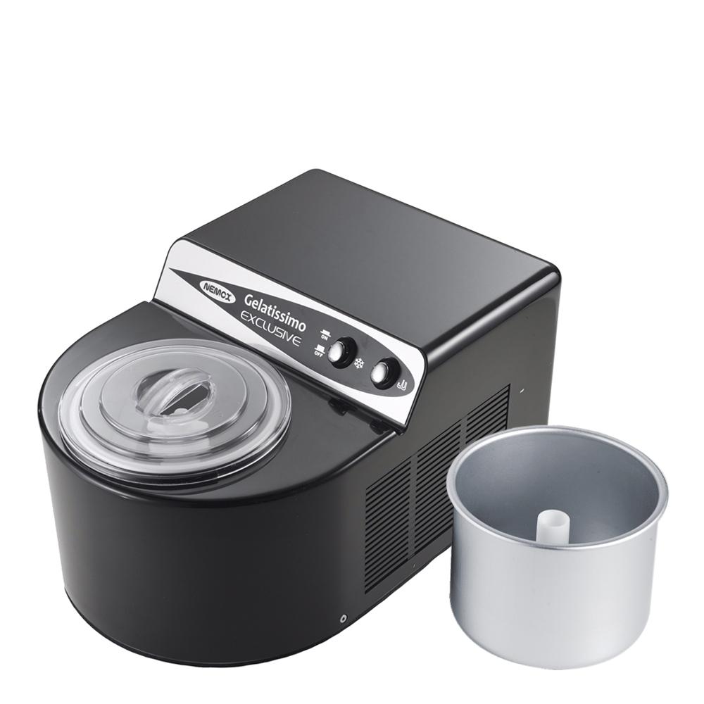 Nemox - Gelatissimo Exclusive Glassmaskin 1,7 L Svart
