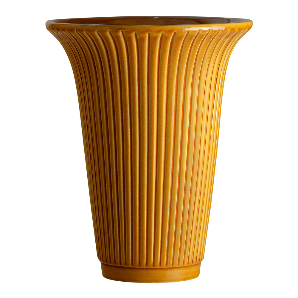 Bergs Potter - Daisy Vas 20 cm Gul amber