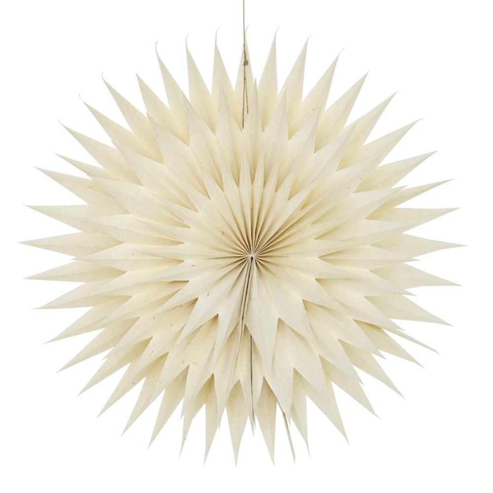 Afroart - Starfrost Adventsstjärna 37 cm
