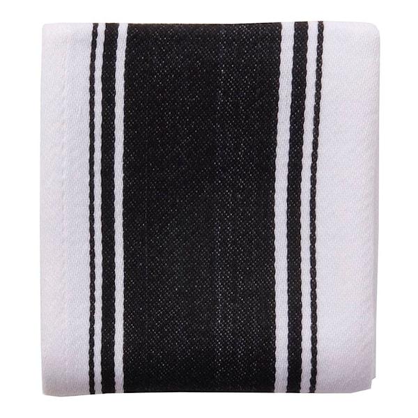 Dexam Love Colour Handduk 45x70 cm Svart/Vit