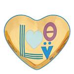 Love Fat Hjärta Guld