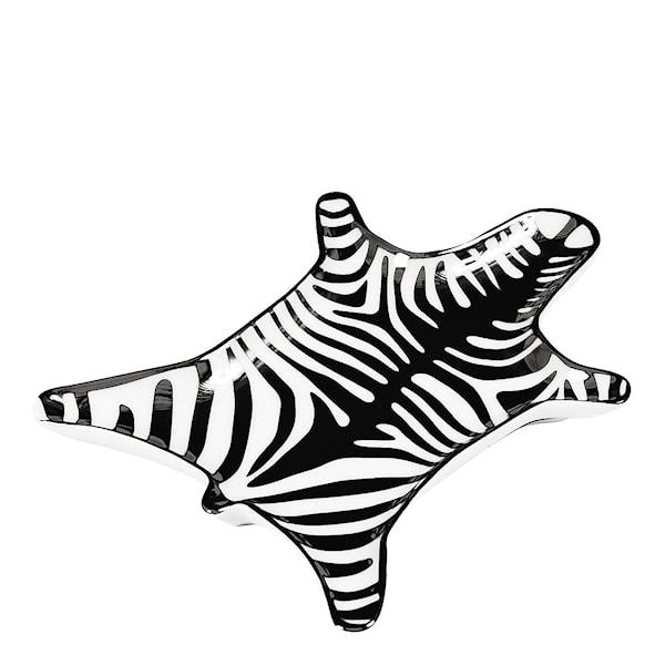 Jonathan Adler Animalia Fat Zebra 15x10 cm Svart/Hvit