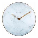 Marble Väggklocka Marmor 40 cm Vit