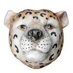 Cheetah Vas Geopard vägg 18x16 cm