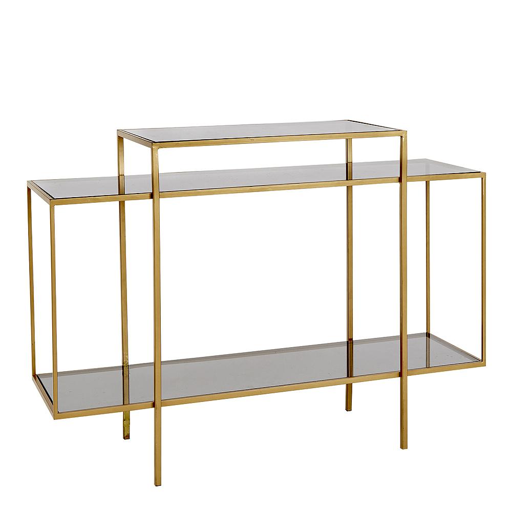 Holmen - Winton Bord Metall/Glas 120x40 cm