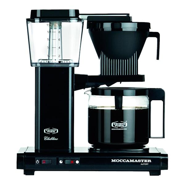 MoccaMaster MoccaMaster Kaffebryggare Svart