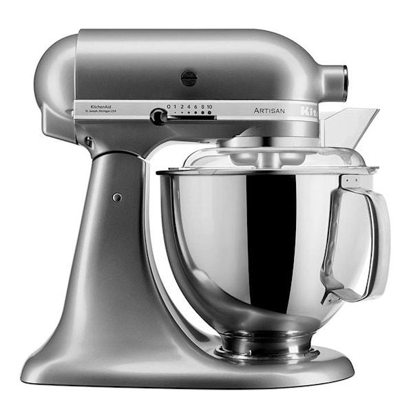KitchenAid Artisan Kjøkkenmaskin 4,8 + 3 L Contour Silver