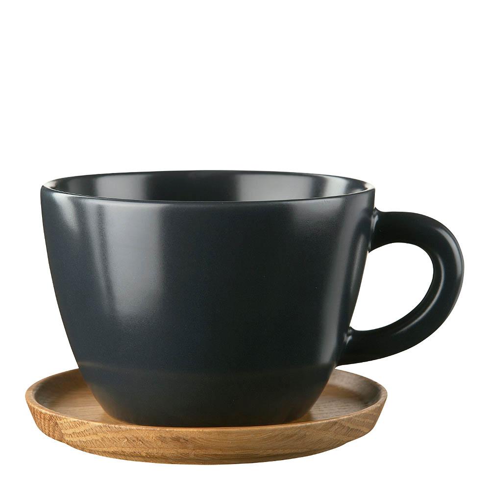 Höganäs Keramik - Mugg/träfat 50 cl Grafitgrå