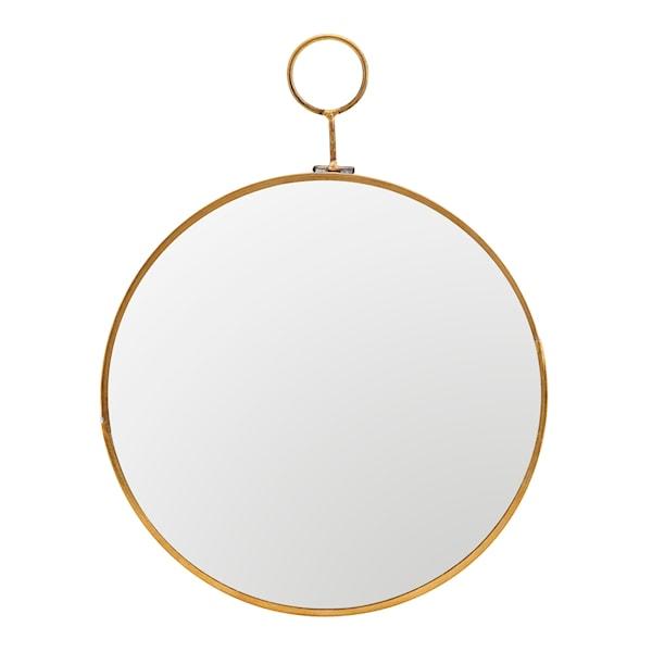 Loop Spegel Mässing 22 cm