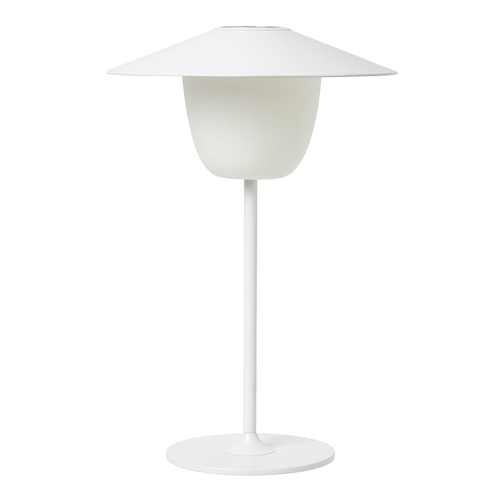 Blomus - Ani Lamp  Sladdlös LED-Lampa uppladdningsbar Vit