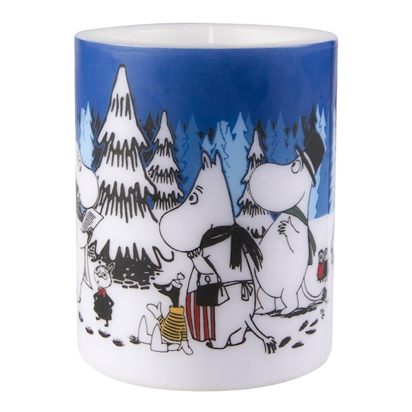 Mumin Ljus Winter Forest 12 cm