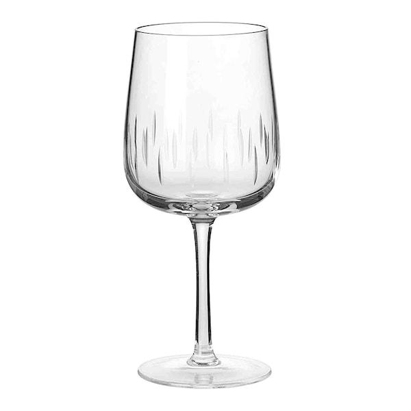 Louise Roe Copenhagen Crystal Glass Rödvinsglas Klar