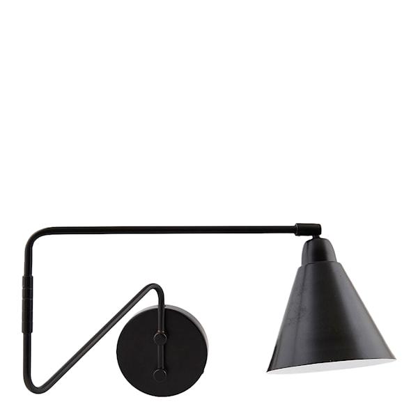 House Doctor Game Vägglampa 70 cm Svart