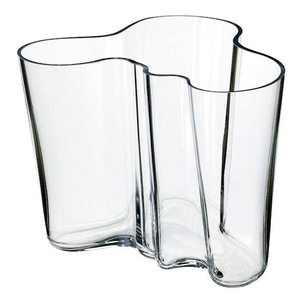 Iittala Alvar Aalto Collection Vase 16 cm Klar