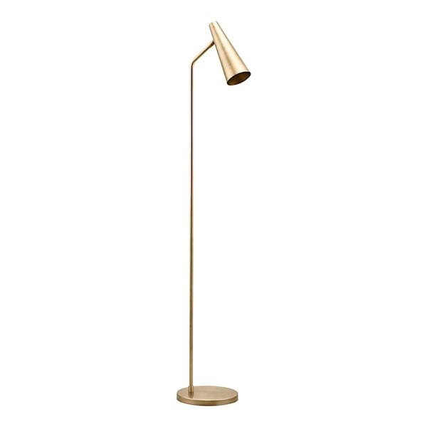 Precise Golvlampa 124 cm Mässing