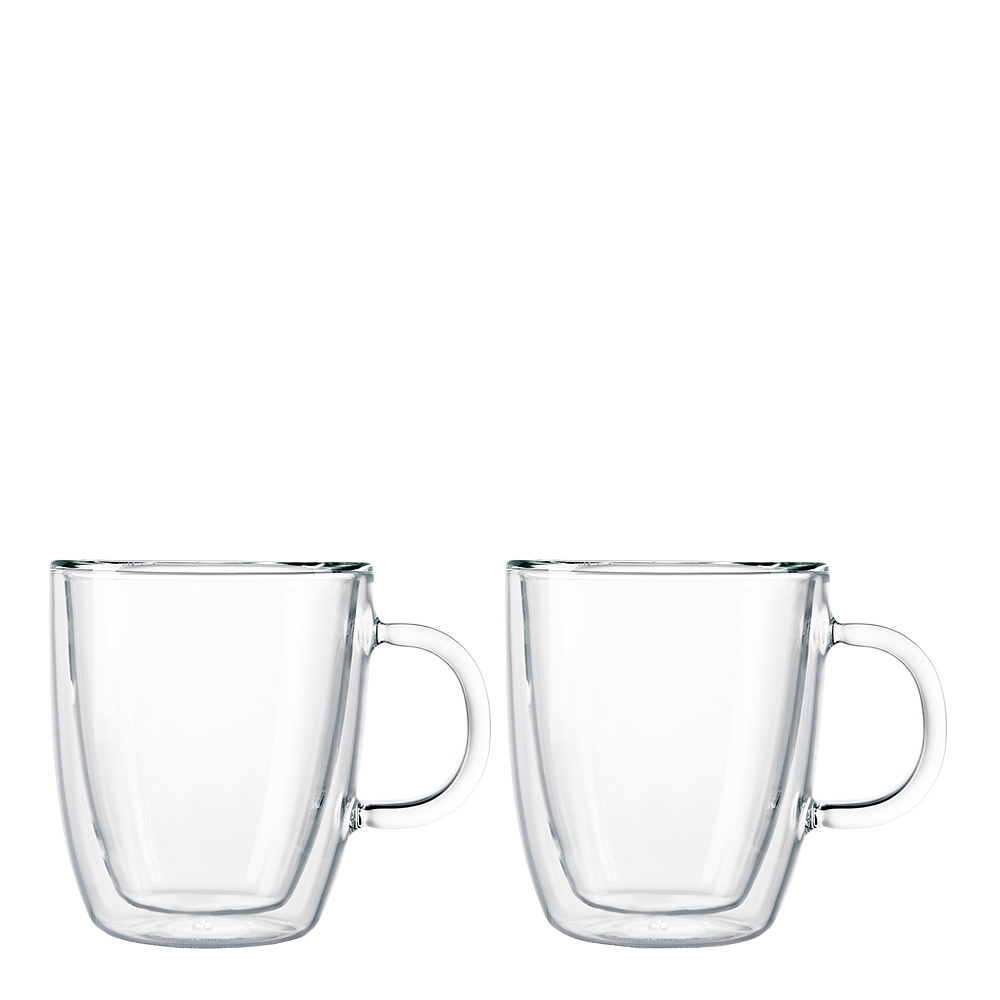 Bodum - Bistro Glasmugg med handtag 30 cl 2-pack