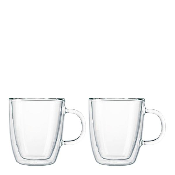 Bodum Bistro Glasmugg med handtag 30 cl 2-pack