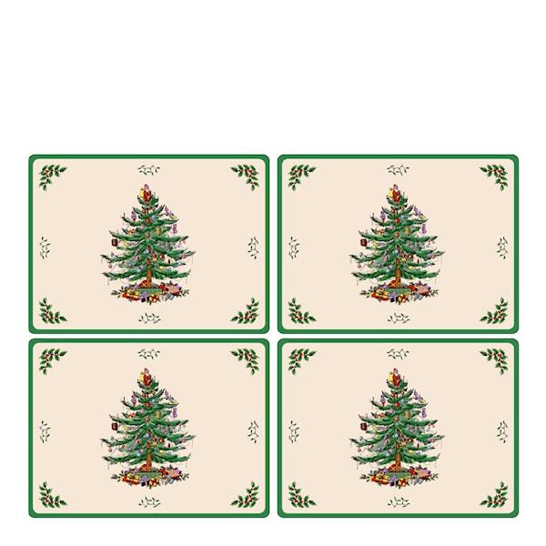 Pimpernel Christmas Tree Tablett 30x40 cm 4-pack