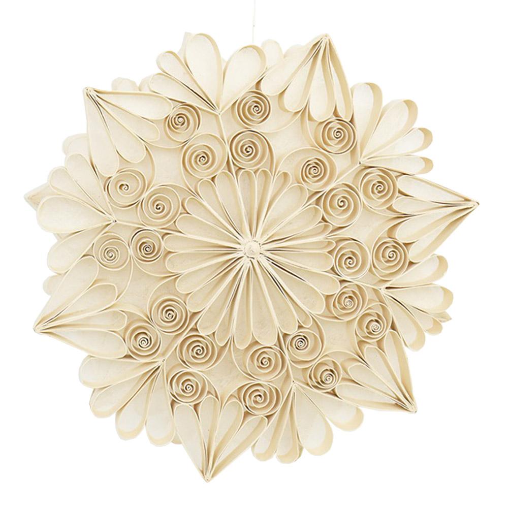 Afroart - Quilled Adventsstjärna 35 cm