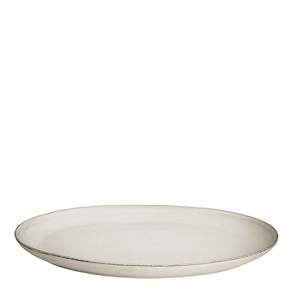 Nordic Sand Tallrik oval 35,5 cm