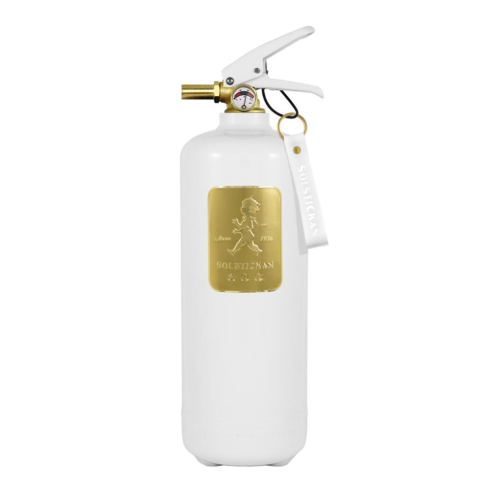 Solstickan - Brandsläckare 2 kg Vit/Guld