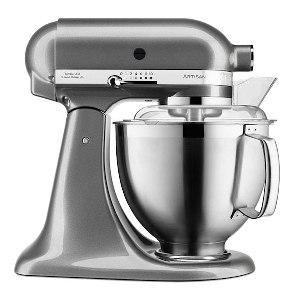 KitchenAid Artisan Kjøkkenmaskin 4,8 + 3 L + Tilbehør Medallion Silver