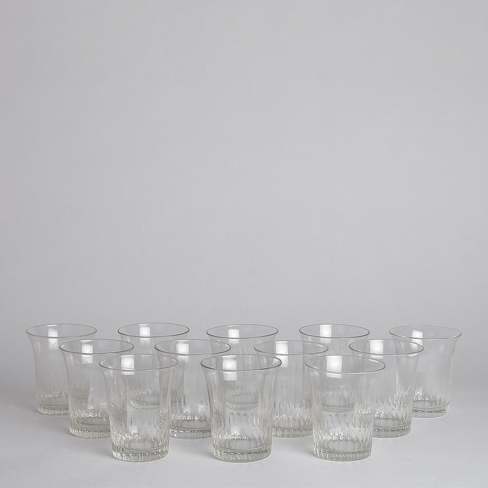 Vintage - SÅLD Selterglas 12-pack