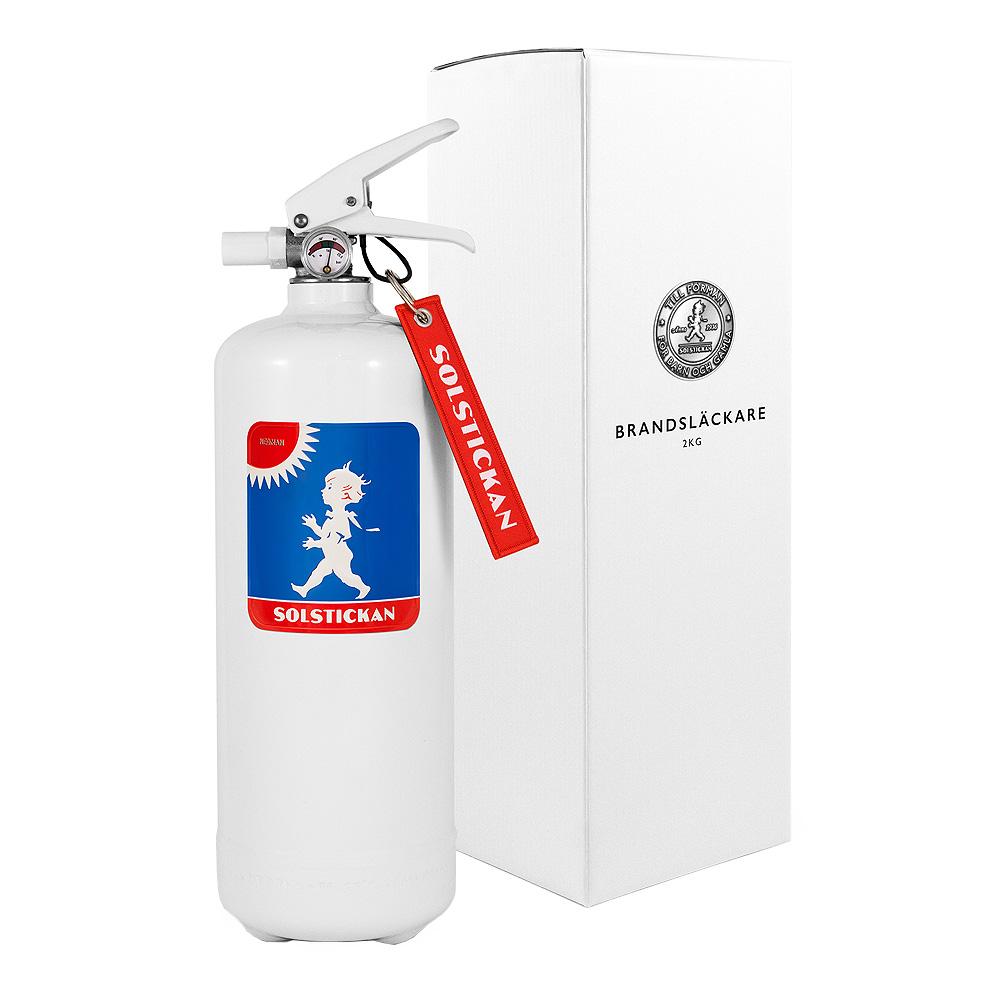 Solstickan - Brandsläckare 2 kg Blå/Röd