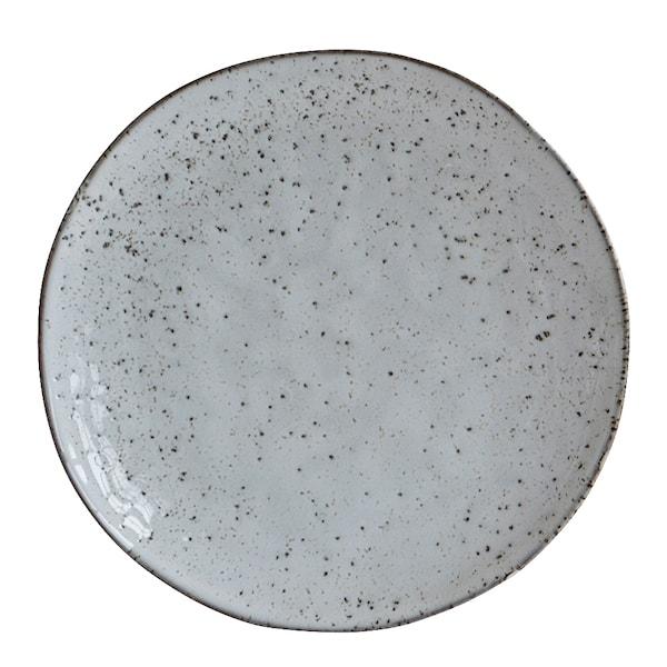 Rustic Tallrik Grå/Blå 20,5 cm
