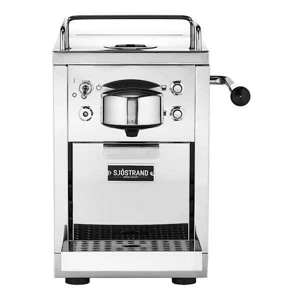 Espressomaskin för kapslar Rostfri