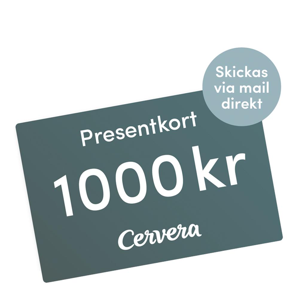 Cervera - Presentkort 1000 kr Digitalt