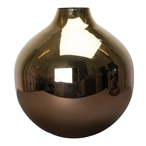 Glow Vas Metall 28x30 cm