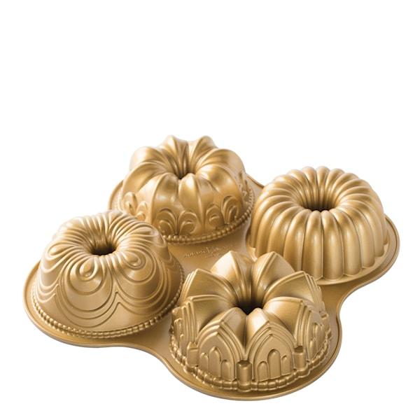 Nordic Ware Bakeform Kvart Gull