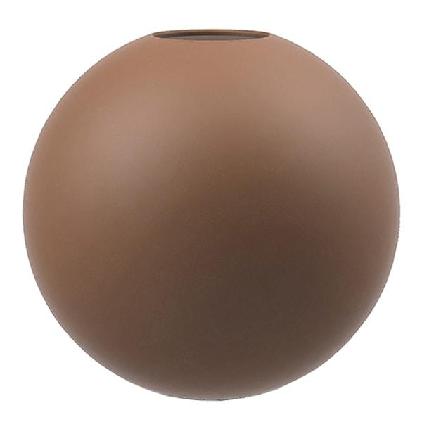 Cooee Ball Vas 10 cm Coconut