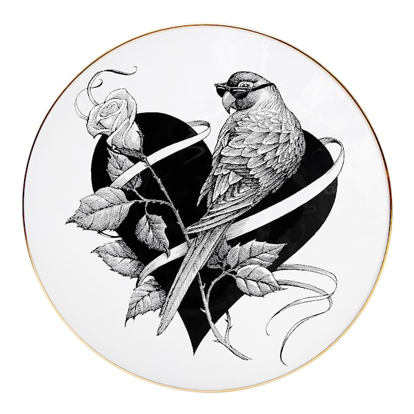 Perfect Plate Lovebird 16 cm