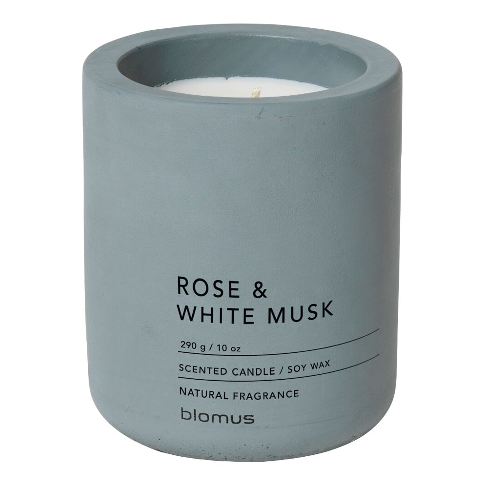 Blomus - Fraga Doftljus Large 290 g Rose & White Musk